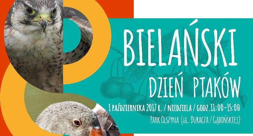 Imprezy plenerowe, Weekend ptakami tylko Bielanach! - zdjęcie, fotografia