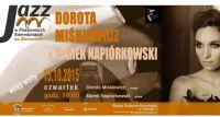 Dorota Miśkiewicz i Marek Napiórkowski w Podziemiach Kamedulskich